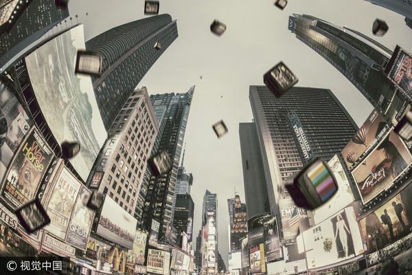 電視,廣告,從天而降,放送,鋪天蓋地,媒體(圖/視覺中國CFP)