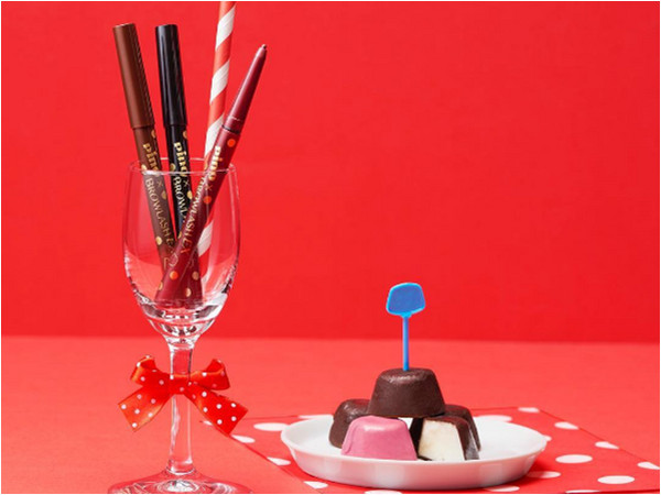 PINO x BROWLASH推雪糕眼線膠 散發巧克力和葡萄味~