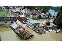 ▲▼孟加拉水災。(圖/路透社)