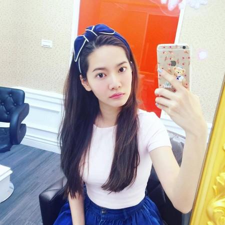 短髮女孩髮帶術(圖/翻攝自IG、粉絲專頁)