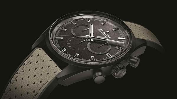 真力時El Primero Range Rover特別版腕錶,與Range Rover的低調奢華如出一轍,建議售價NT$ 299,300