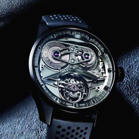 結合兩大複雜功能的Academy芝麻鍊陀飛輪腕錶,猶如腕上的黑暗騎士,全球限量150只,建議售價NT$ 2,651,000
