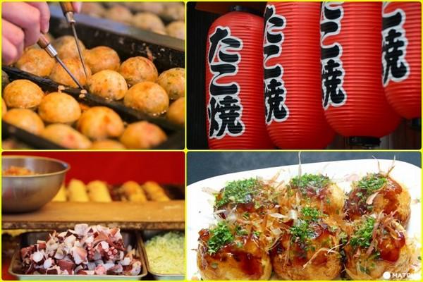 大阪章魚燒美食。(圖/matcha)