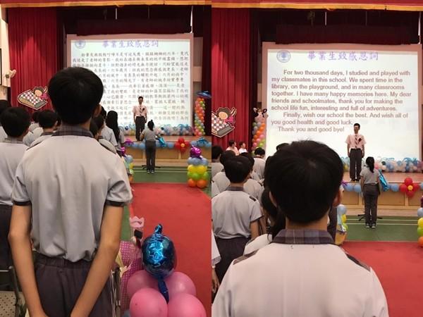 ▲▼李千娜兒子國小畢業了。(圖/翻攝自李千娜臉書)