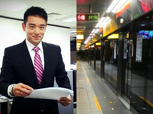 ▲岑永康南下高雄,尖峰時間到美麗島站搭車時嚇壞了。(圖/翻攝自岑永康臉書)