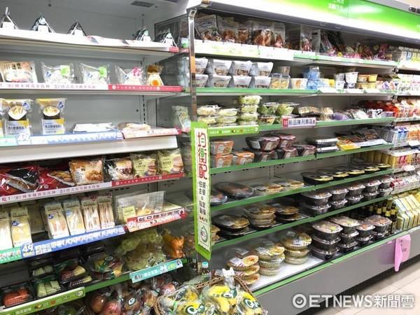 ▲▼超商,便當市肆,微波食品,茶葉蛋,熱狗             。(圖/材料照)