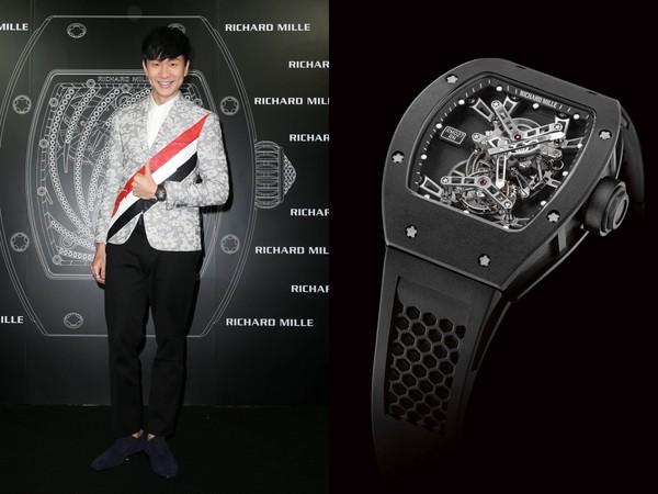 ▲林俊傑、房祖名配戴Richard Mille腕錶(圖/品牌提供)