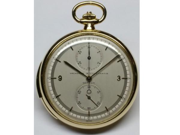 ▲江詩丹頓黃金計時三問懷錶(圖/品牌提供)