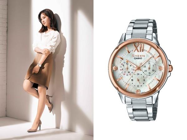 ▲少女時代戴SHEEN 2017春夏腕錶(圖/品牌提供)