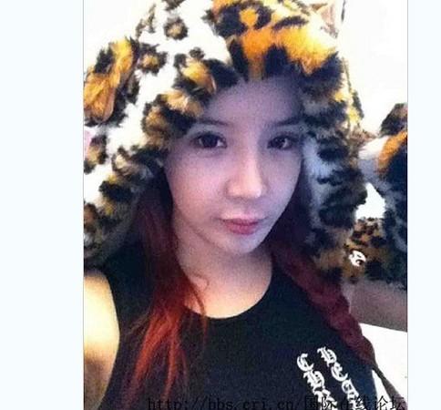 韩国美少女2ne1素颜照外流