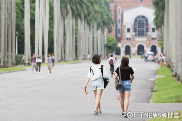 高教崩壞,高教,大學校園,大學生,高等教育(圖/記者季相儒攝)