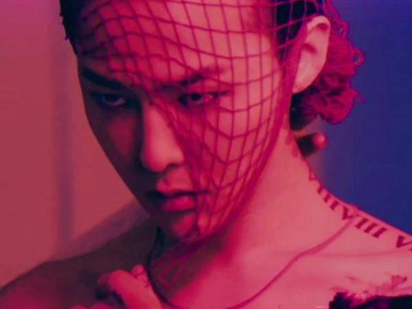 ▲GD拍攝專輯封面。(圖/翻攝自YouTube BIGBANG)