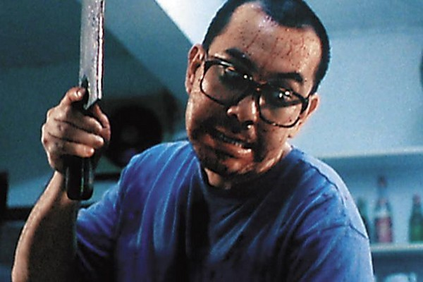 90年代隨《八仙飯店之人肉叉燒包》來台宣傳的黃秋生斯文瀟灑。
