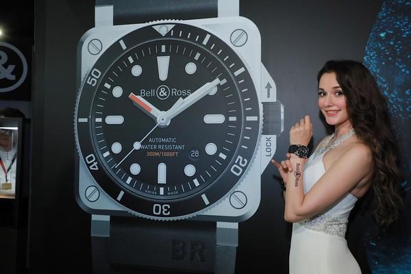 ▲瑞莎出席Bell & Ross新錶記者會(圖/品牌提供)
