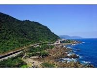 北關海潮公園最高處遠眺濱海公路。(圖/IG@lou0712提供)