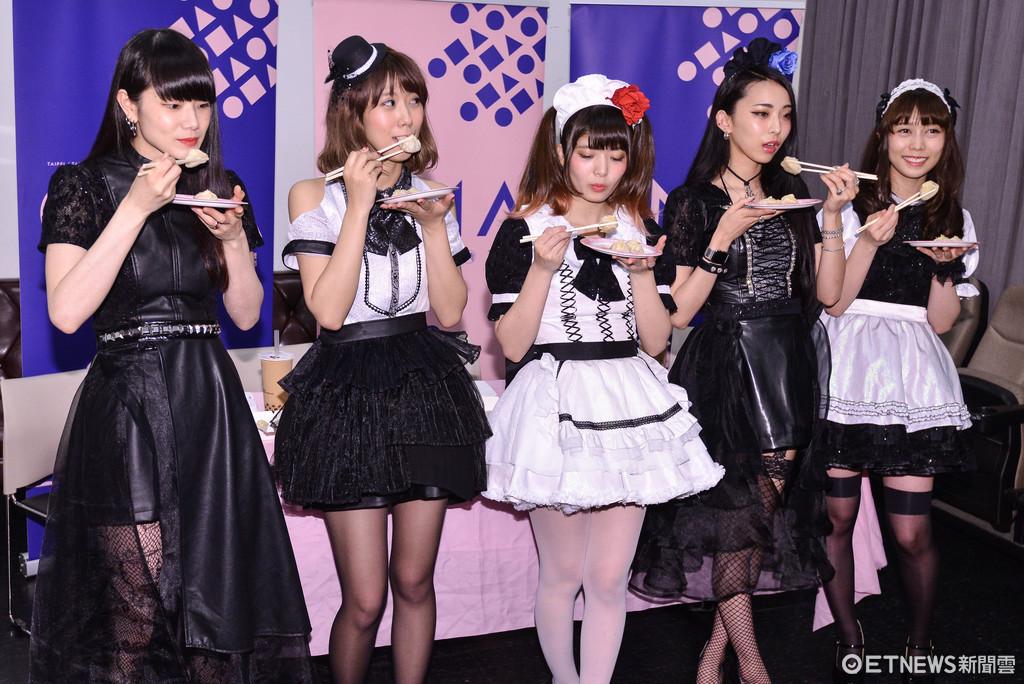 ▲▼日本女僕風搖滾團BAND-MAID總彩排。(圖/記者李毓康攝)