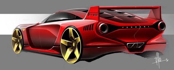 跑车设计图手绘入门