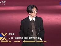 第28屆流行音樂金曲獎星光大道林宥嘉。(圖/翻攝自YouTube)