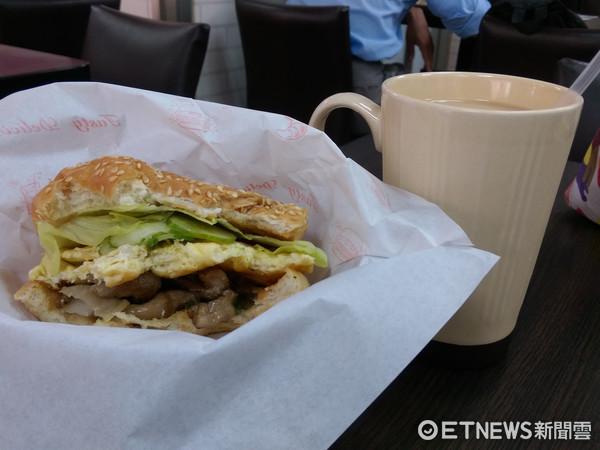 ▲▼早餐,早餐店,早點,漢堡。(圖/記者戴榕萱攝)