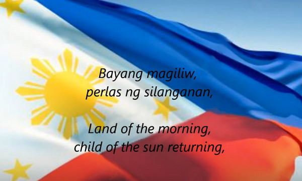 ▲菲律賓修法,未來國民唱國歌《親愛的土地》時,必需「熱情的唱」,否則會被罰!(圖/翻攝自YouTube)
