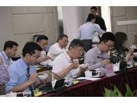 ▲雙城論壇柯市長前往上海第六人民醫院與青年醫生及醫學生午餐交流。(圖/台北市政府提供)