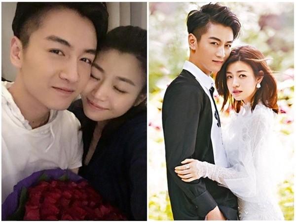陳妍希和陳曉結婚1週年。(圖/翻攝自陳妍希IG、柴視覺CHAISATUDIO提供)