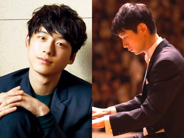 ▲坂口健太郎挑戰彈鋼琴。(圖/翻攝自經紀公司官網、TBS YoTube)
