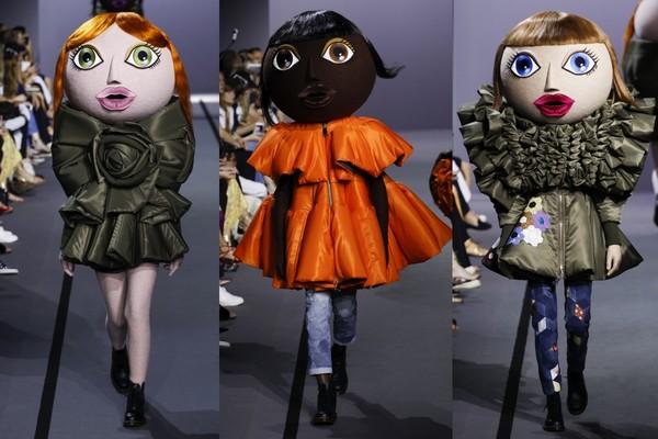 这些可爱的大头娃娃,其实藏著深远意义.(图/翻摄自www.vogue.com)