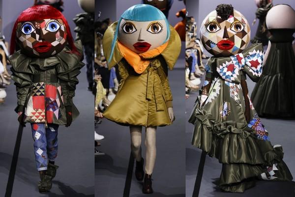 服装设计,也是走浮夸路线.(图/翻摄自www.vogue.com)