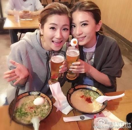 ▲▼Selina改班機奔演唱會 Hebe感動。(圖/翻攝自田馥甄微博)