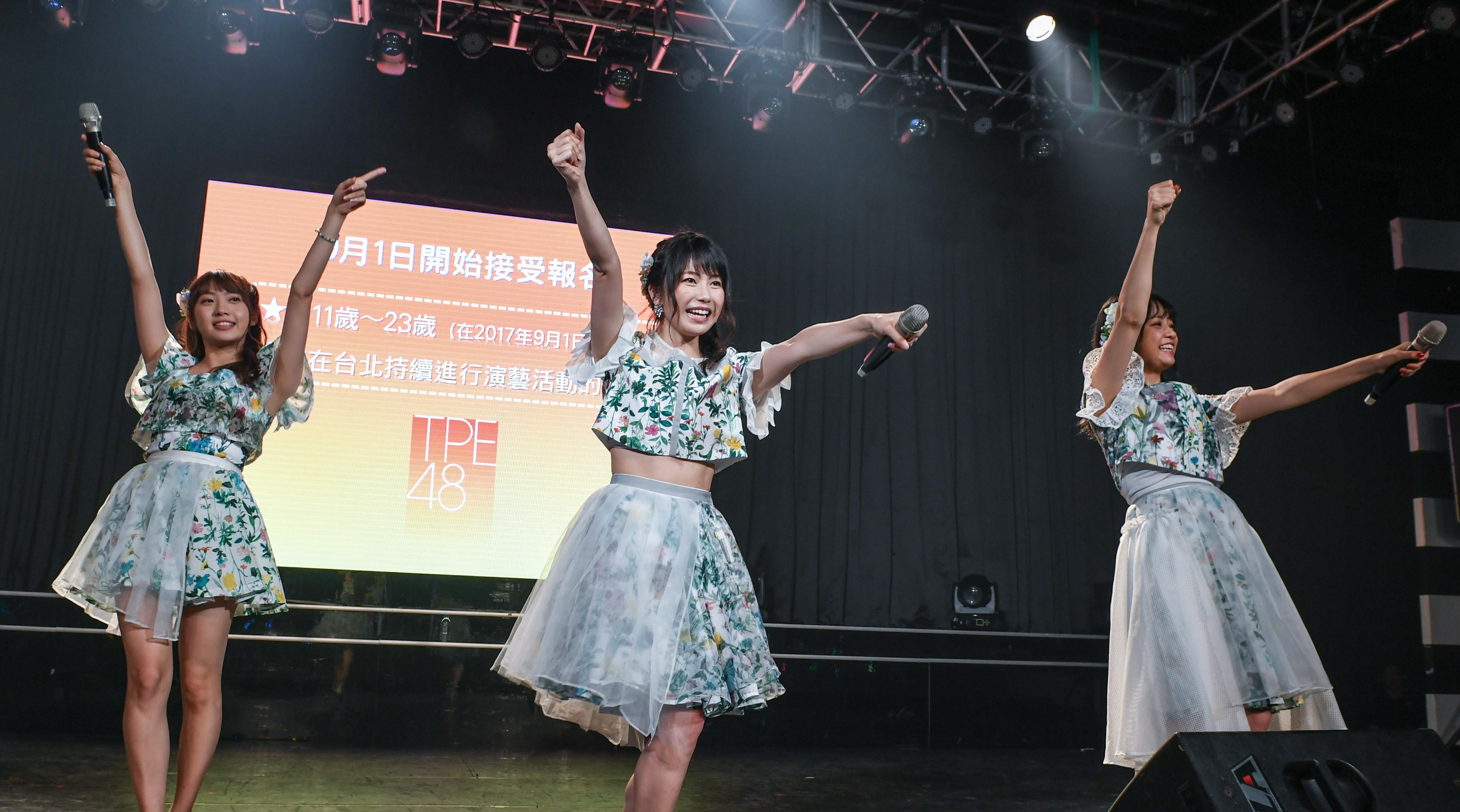 ▲▼AKB48橫山由依與粉絲大玩摔角! 甜喊:台灣好溫暖 。(圖/AKS提供)