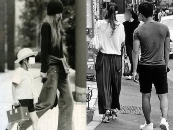 ▲安室奈美惠獨自撫養兒子長大,兩人在涉谷逛街被形容像情侶。(圖/翻攝自日網)