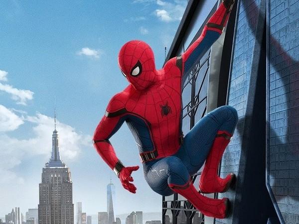 ▲▼《蜘蛛人:返校日》湯姆霍蘭德自爆用假名念美國高中。(圖/翻攝自YouTube/Jimmy Kimmel Live)