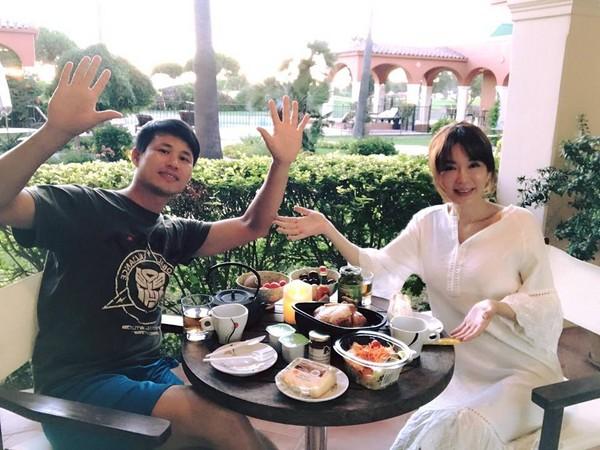 陳國華夫婦南法飯店遇劫。(圖/翻攝自Ivy與國華的生活分享粉絲專頁)