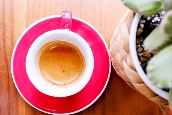 台南安平單調花咖啡廳!手沖咖啡、好拍戚風蛋糕