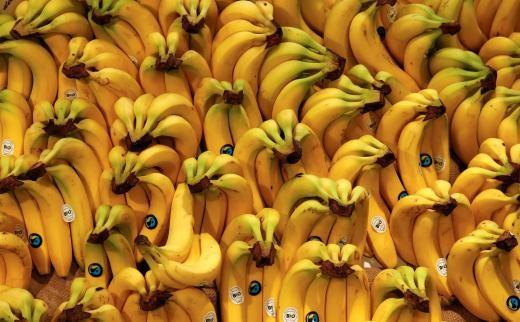 ▼ 澳洲「超级香蕉」含4倍维他命a.(图/路透社/示意图)