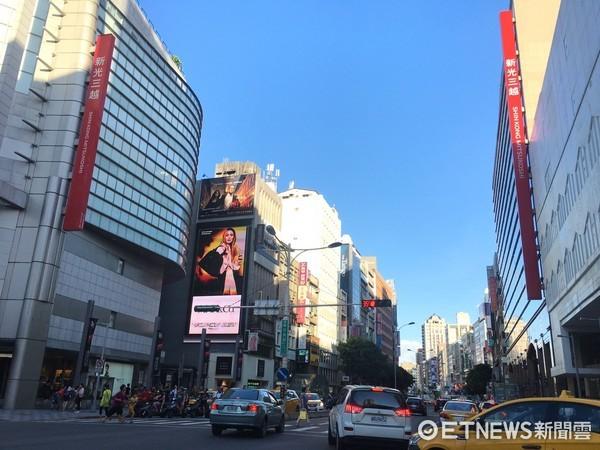 ▲台北市中山區南西商圈。(圖/記者葉佳華攝)