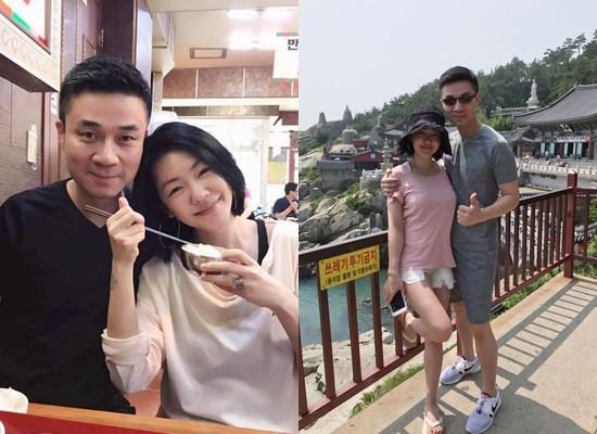 ▲▼小S一家五口到南韓旅遊。(圖/翻攝自小S臉書)