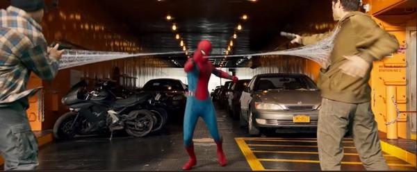 ▲▼《蜘蛛人:返校日》5個亮點。(圖/翻攝自推特/翻攝自微博)