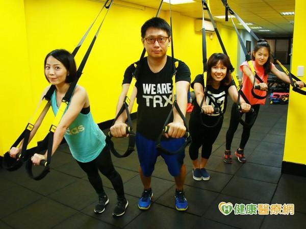 ▲TRX已經成為時下最熱門的健身項目。(圖/健康醫療網)