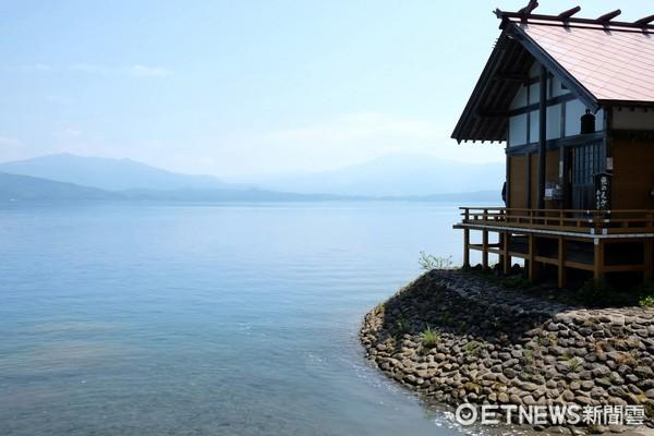 ▲田澤湖 。(圖/記者于佳云攝)