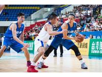 ▲▼瓊斯盃男籃,中華白對菲律賓, 陳盈駿。(圖/記者季相儒攝)