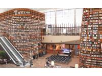 ▲COEX MALL中的STARFIELD LIBRARY空間。(圖/翻攝COEX MALL官方粉絲專頁)