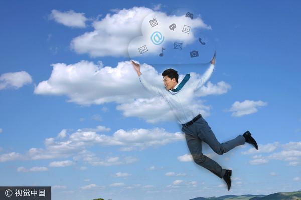 共享,雲端,電腦,分享,科技(圖/視覺中國CFP)
