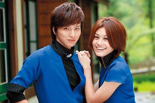 小煜曾與黑Girl的小蠻談戀愛,兩人也是拍攝偶像劇《黑糖群俠傳》假戲真做、迸發愛火。(衛視中文台提供)
