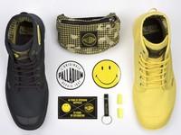 ▲Palladium70週年笑臉靴。(圖/品牌提供)