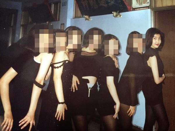 ▲楊謹華分享高中熱舞時期照片。(圖/翻攝自楊謹華臉書)