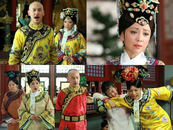 ▲鄧萃雯演《新還珠格格》的皇后成新版亮點。(圖/翻攝自《新還珠格格》微博、YouTube)