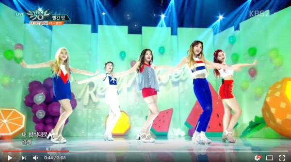 Red Velvet。(圖/翻攝自Youtube)