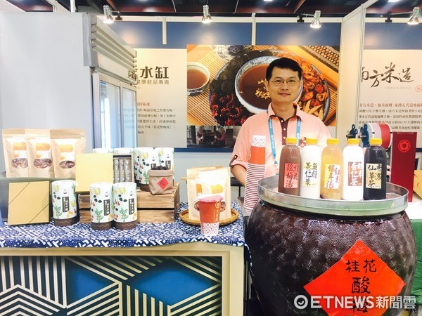 ▲2017台灣美食展 美味食光展區。(圖/記者曹悅華攝)